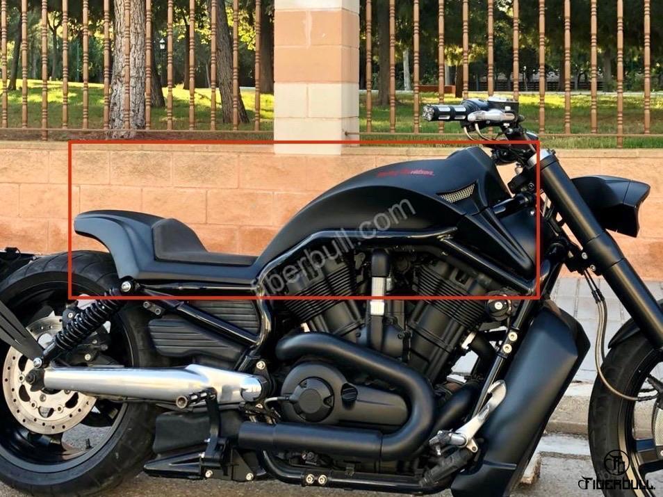 V Road Muscle Harley Davidson 00186   Motos y Accesorios